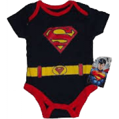 Body superman uniforme