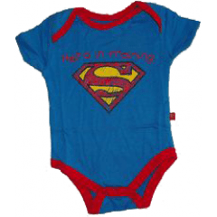 Body superman em treinamento hero in training