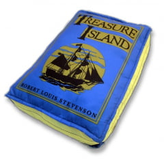 Almofada Livro A Ilha do Tesouro