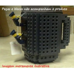 Caneca build on brick Think Geek