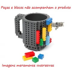 Caneca Build-On Brick