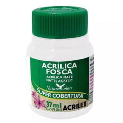 Tinta Acrílica Fosca Nature Colors Branco Acrilex - 37ml