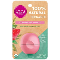 EOS Lip Balm Strawberry Sorbet - Hidratante Labual Original