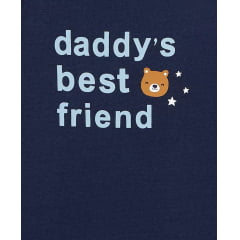Body de Bebê Carters Daddy's Best Friend 24M - Original