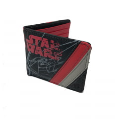 Carteira Star Wars Tie Silencer Kylo Ren